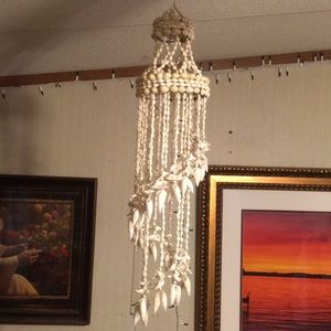 Other - NWOT, beautiful, natural seashells wind chime.
